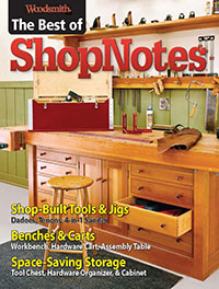 Best of ShopNotes Cover